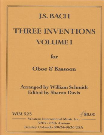 THREE INVENTIONS Volume 1