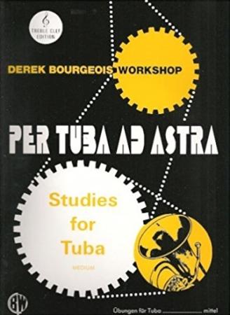 PER TUBA AD ASTRA (treble clef)