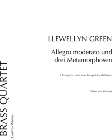 ALLEGRO MODERATO & THREE METAMORPHOSES