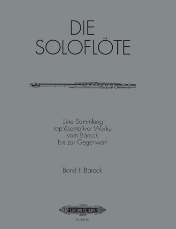 BAROQUE PIECES FOR SOLO FLUTE Volume 1
