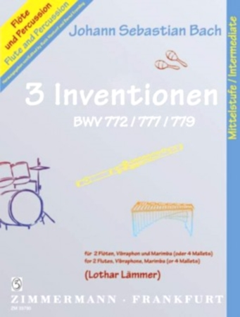 3 INVENTIONS BWV 772/777/779