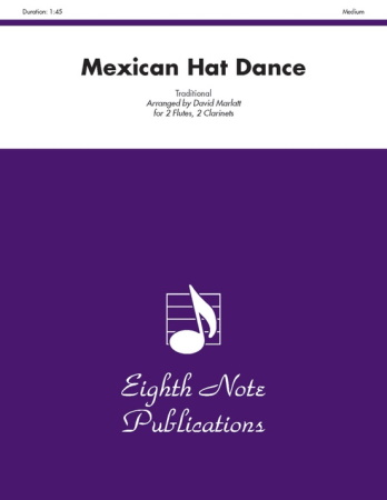 MEXICAN HAT DANCE (score & parts)