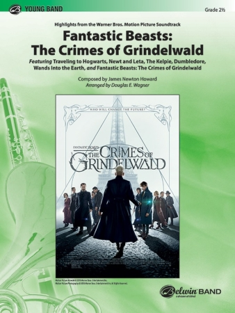 FANTASTIC BEASTS: CRIMES OF GRINDELWALD (score & parts)