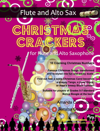 CHRISTMAS CRACKERS for Flute & Alto Saxophone