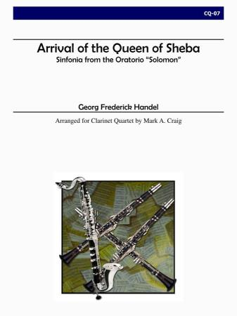 ARRIVAL OF THE QUEEN OF SHEBA (score & parts)