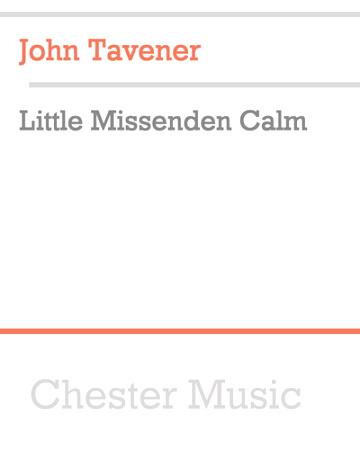 LITTLE MISSENDEN CALM (score & parts)