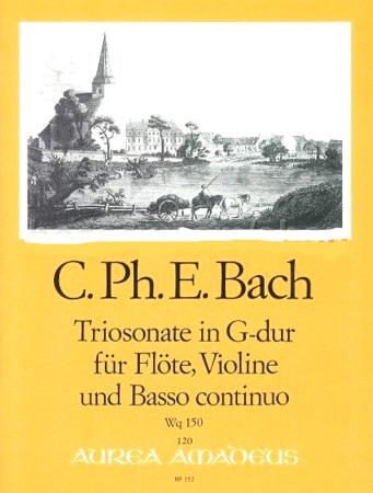 TRIO SONATA in G Wq.150