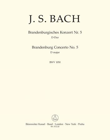 BRANDENBERG CONCERTO No.5 BWV1050 Ripieno Cello