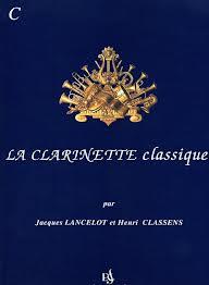 LA CLARINETTE CLASSIQUE Volume C