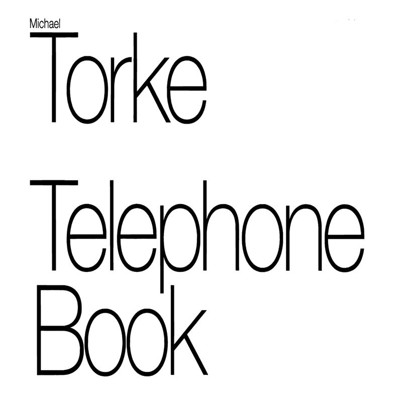 TELEPHONE BOOK score & parts