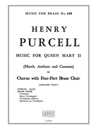 MUSIC FOR QUEEN MARY II vocal part