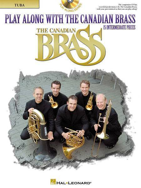 PLAY ALONG WITH CANADIAN BRASS + CD Tuba Part