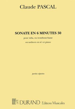 SONATE EN 6 MINUTES 30