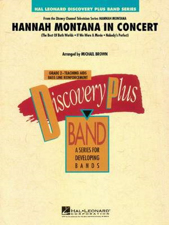 HANNAH MONTANA IN CONCERT (score)