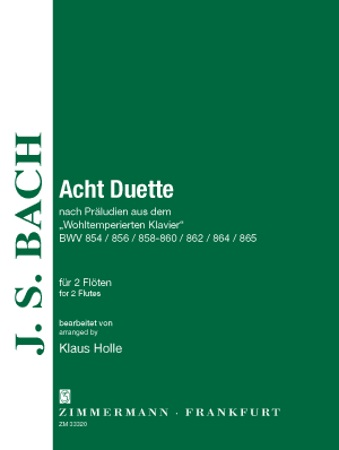 EIGHT DUETS from the Well Tempered Clavier