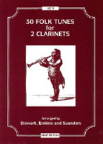 30 FOLK TUNES for 2 Clarinets