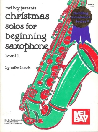 CHRISTMAS SOLOS FOR BEGINNING SAXOPHONE