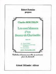 LES CONFIDENCES d'un Joueur de Clarinette Op.141 Nos.1, 3 & 15