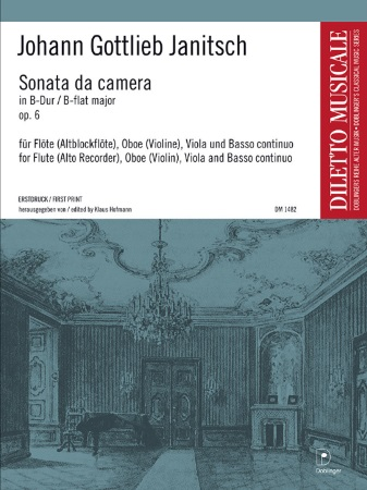 SONATA DA CAMERA in Bb major Op.6