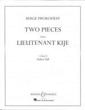 TWO PIECES FROM 'LIEUTENANT KIJE'