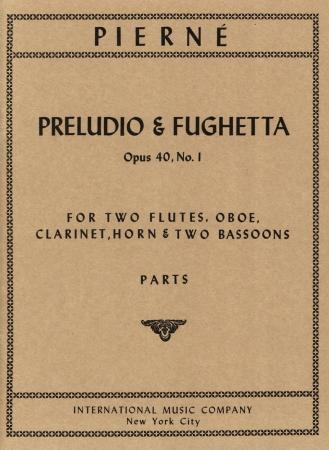 PRELUDIO & FUGHETTA (set of parts)