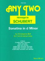 HOMAGE TO SCHUBERT Sonatina in D minor