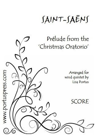 PRELUDE from The Christmas Oratorio (score & parts)