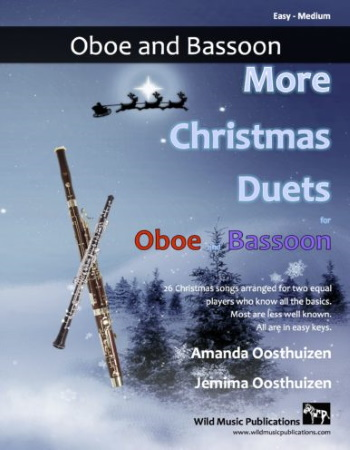 MORE CHRISTMAS DUETS for Oboe & Bassoon