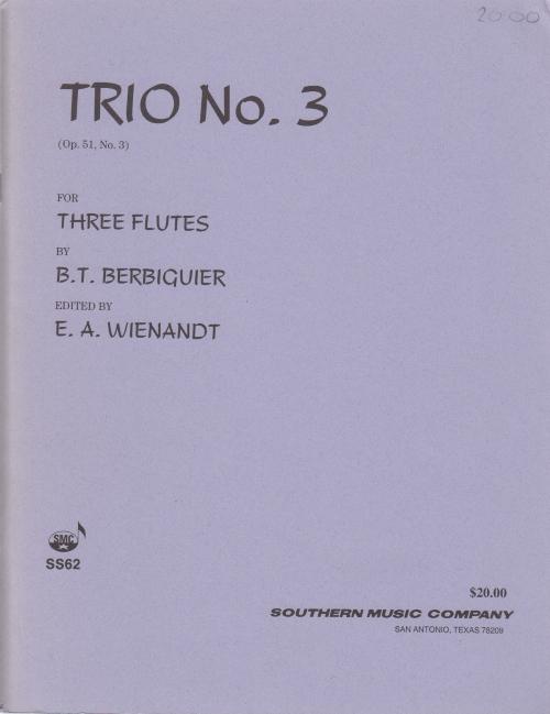 TRIO No.3 Op.51/3