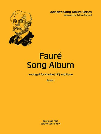 FAURE SONG ALBUM Book 1