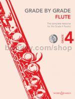 GRADE BY GRADE Flute Grade 4 + CD