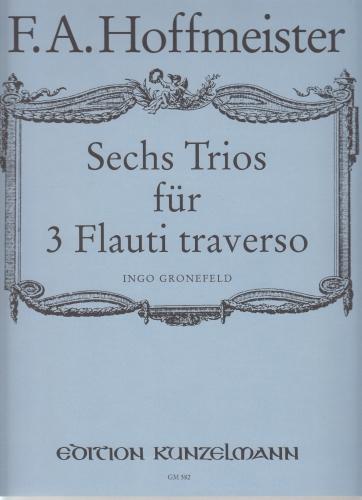 SIX TRIOS for Three Flutes