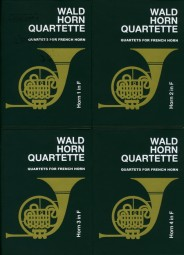 WALDHORN QUARTETTE Book 1