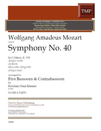 SYMPHONY No.40 (score & parts)