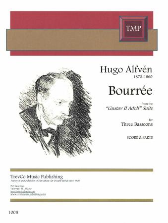BOURREE (score & parts)