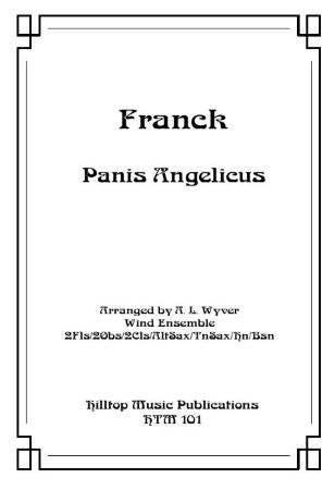 PANIS ANGELICUS (score & parts)