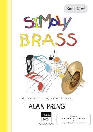 SIMPLY BRASS + Downloads (bass clef)