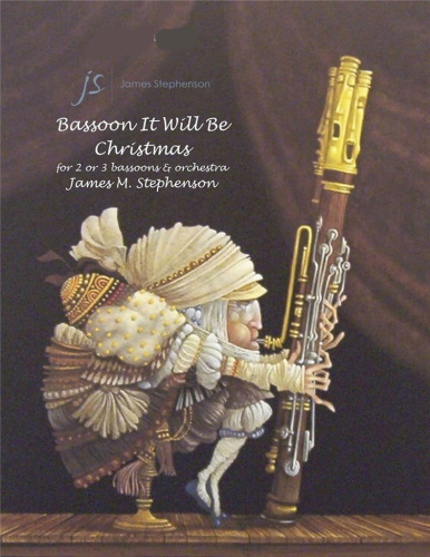 BASSOON IT WILL BE CHRISTMAS (score & parts)