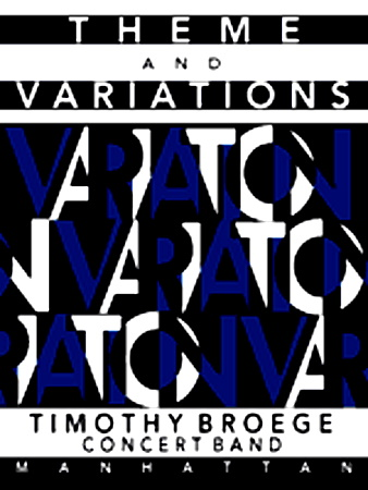 THEME AND VARIATIONS (score & parts)
