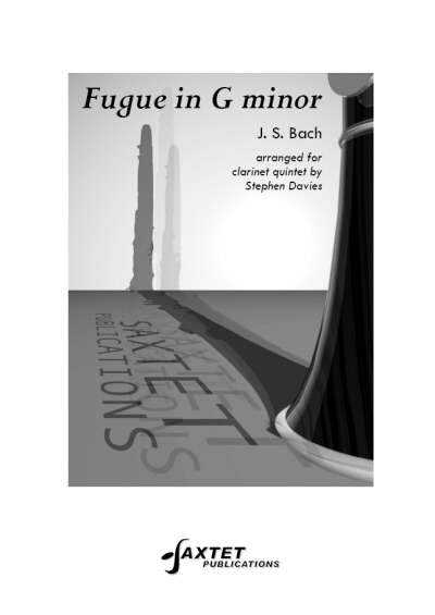 FUGUE in G minor (score & parts)
