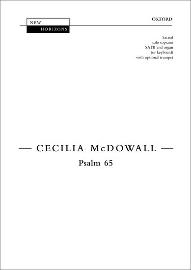PSALM 65 Vocal Score