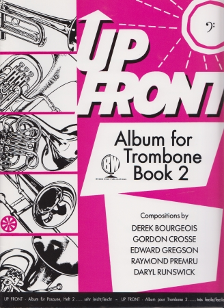 UP FRONT ALBUM TROMBONE Book 2 bass clef