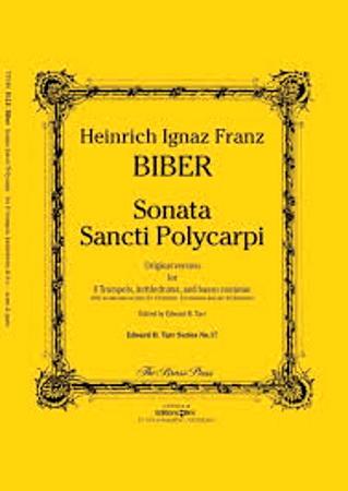SONATA SANCTI POLYCARPI score & parts