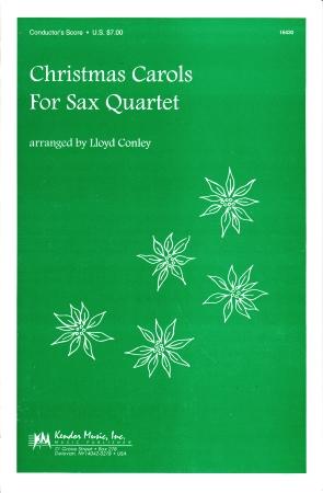 CHRISTMAS CAROLS FOR SAX QUARTET score
