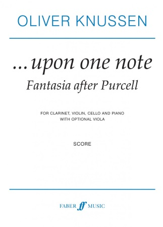 ...UPON ONE NOTE (piano score)