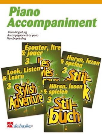 LOOK, LISTEN & LEARN Book 3: Stylish Adventure Piano Accompaniment