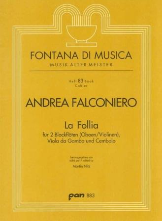 LA FOLLIA (score & parts)