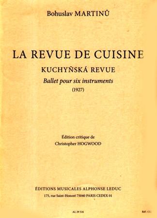 LA REVUE DE CUISINE Complete Ballet (score & parts)