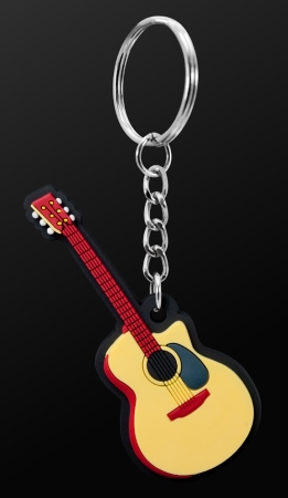 INSTRUMENT KEYRING Acoustic Guitar