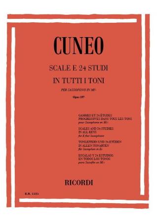 SCALES & 24 STUDIES in All Keys Op.197
